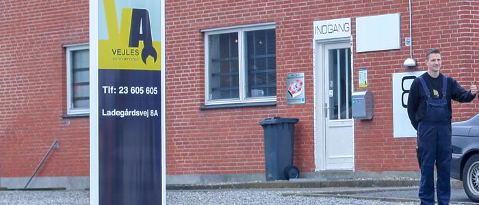 Find vej til Vejles Autoværksted, Din mekaniker i Vejle, Vinding